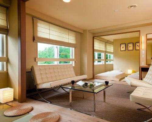 大自然の緑が美しいスタイリッシュモダンなお部屋