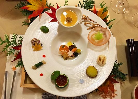 紅葉を舌で楽しむ【人気№1★龍リゾート会席】