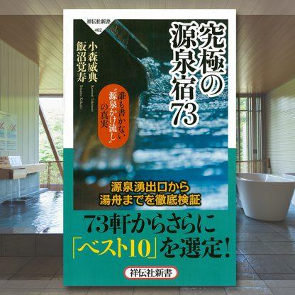 龍リゾート&スパが究極の源泉宿73に掲載されました!