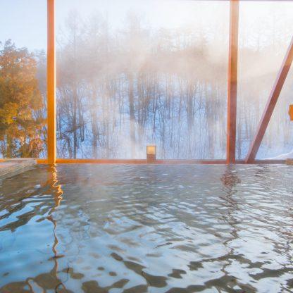 龍リゾート&スパ、冬、露天風呂、温泉