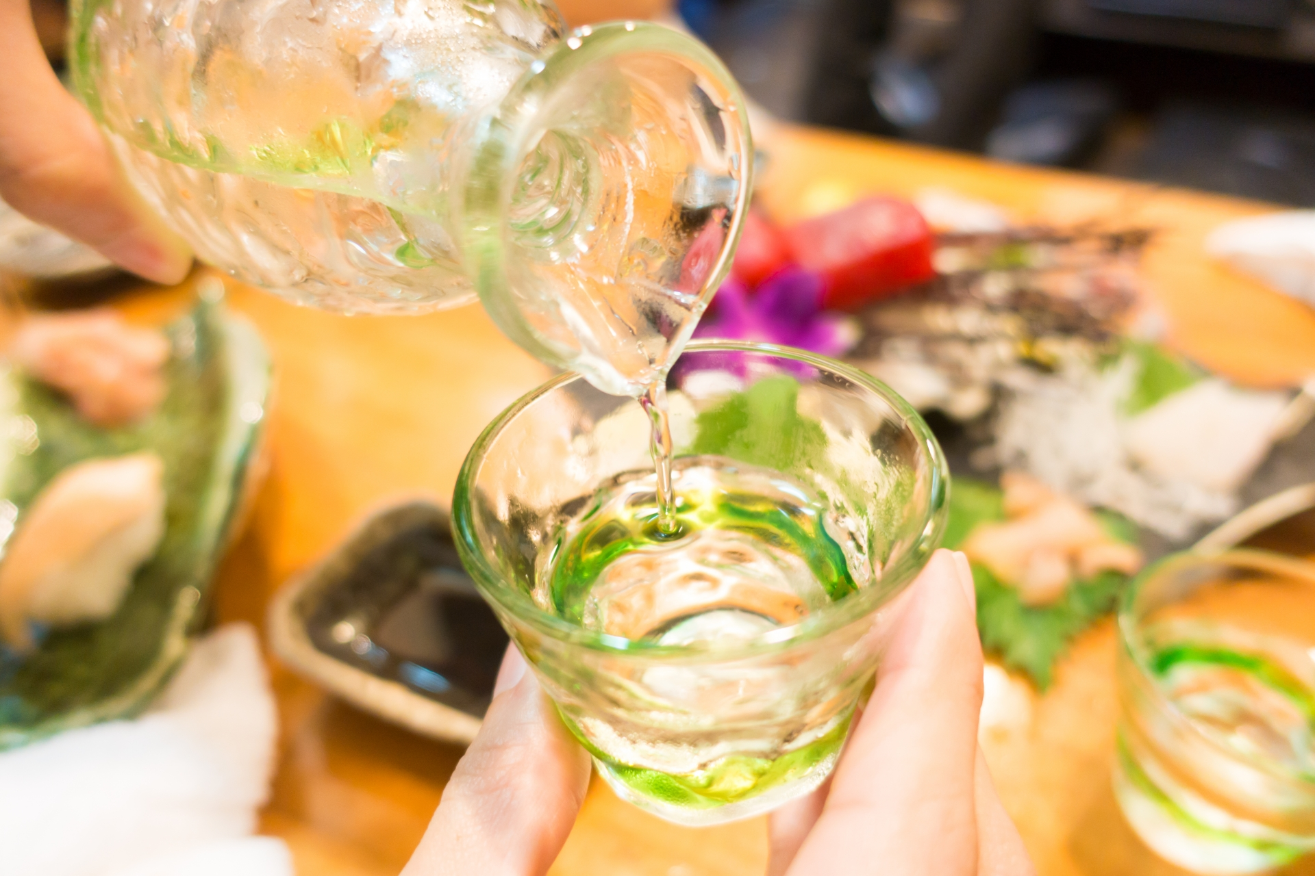 龍リゾート&スパ、日本酒、地酒