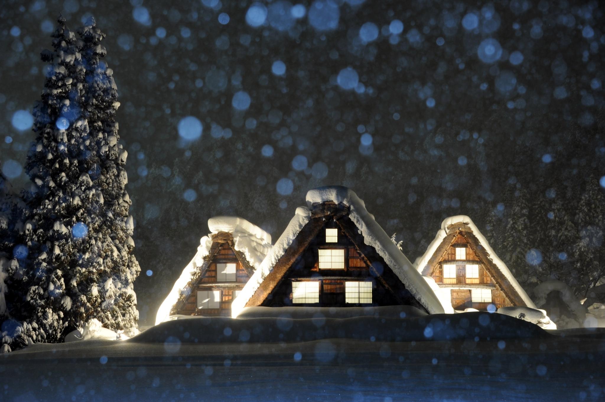 冬の「世界遺産 白川郷」観光に関してのご案内