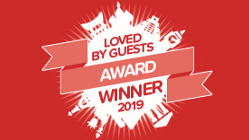 Hotels.com「LOVED BY GUESTS」アワード2019を受賞しました!