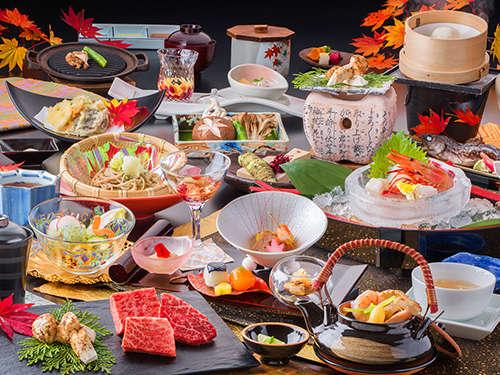 秋の味覚を先取り!「松茸プラン」