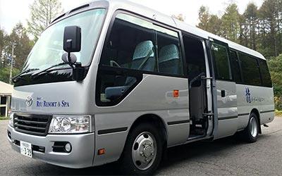 無料送迎バス イメージ