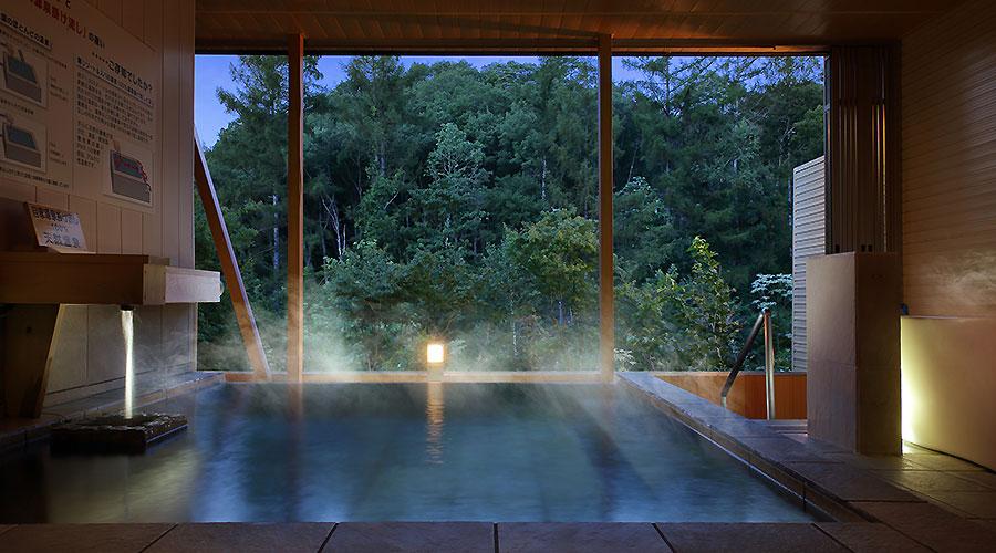 天然温泉 イメージ