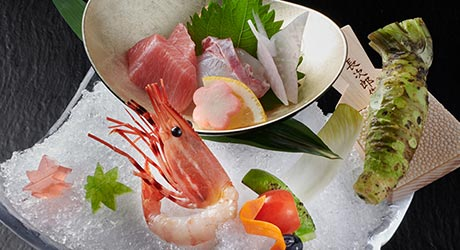 毎朝料理長が買い付ける鮮魚盛り イメージ