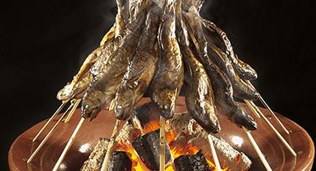 岩魚の塩焼き イメージ