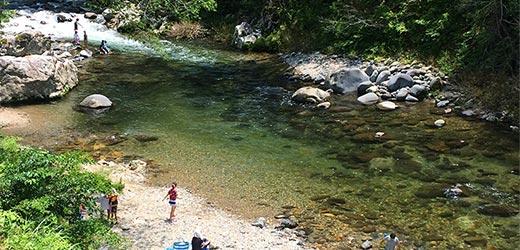 川遊び イメージ