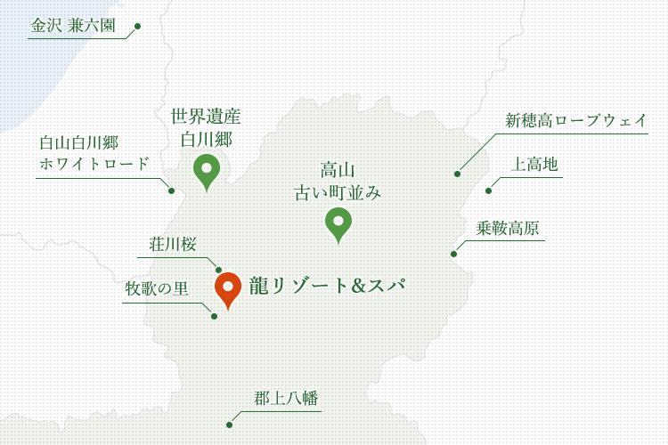 観光スポット地図