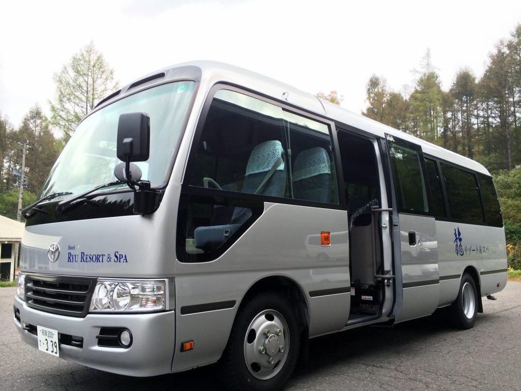 高山祭に伴う送迎バスのご案内